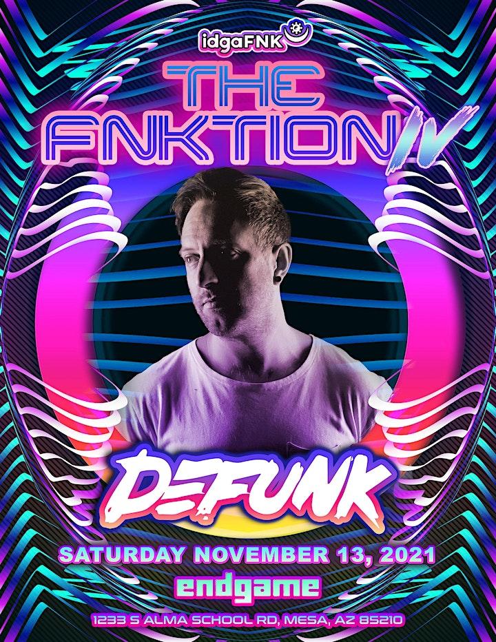 The FNKtion IV w/ Defunk & Megan Hamilton image
