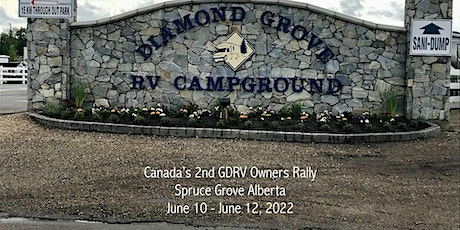 2022 SECOND GDRV OWNERS RALLY - Spruce Grove Alberta Canada tickets