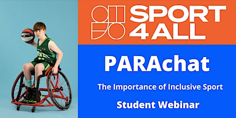 PARAchat: The Importance of Inclusive Sport tickets