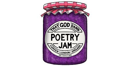 THAT GOD DAMN POETRY JAM! - October Orange Marmalade tickets