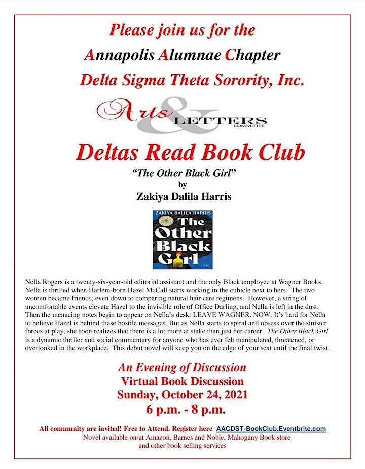 Virtual Delta Reads Book Club image