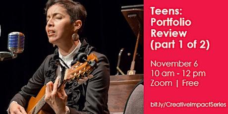 Teens: Portfolio Review (part 1 of 2) biglietti