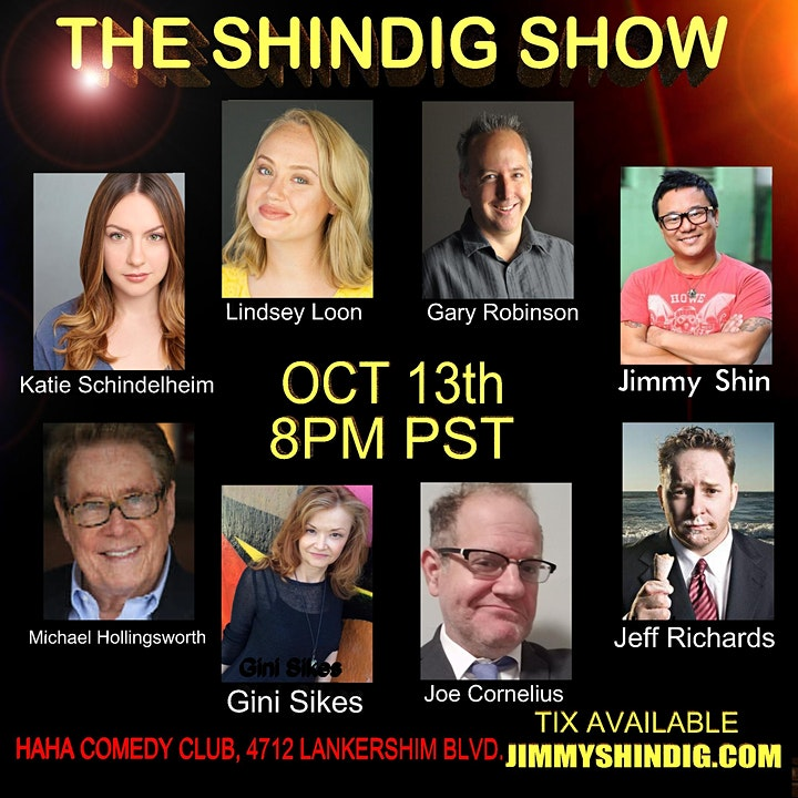 Shindig Comedy Show with Jeff Richards from SNL image