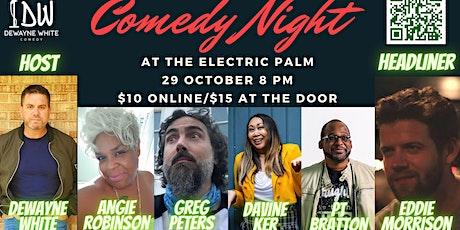 Comedy Night starring Eddie Morrison tickets