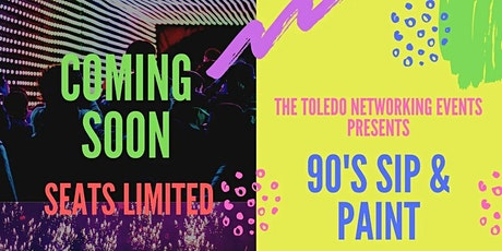 90s Sip &  Paint Party tickets