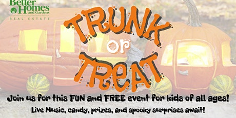 Free and Fun Trunk or Treat tickets
