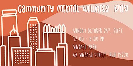Community Mental Wellness Day tickets