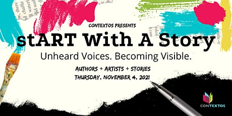 stART With A Story: A Virtual Storytelling Mixer tickets