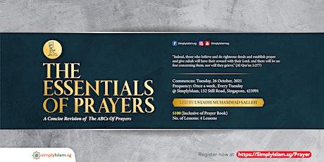 The Essentials of Prayers tickets