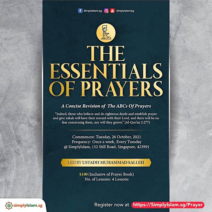 The Essentials of Prayers image