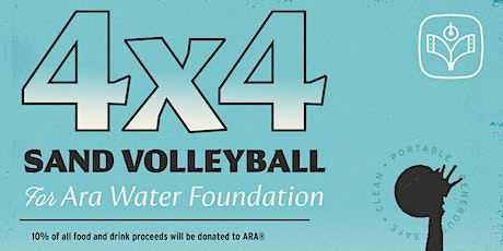 4v4 Sand Volleyball Fundraiser for ARA® Water Foundation tickets