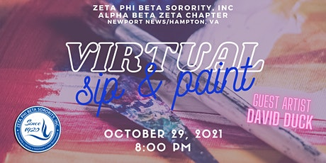Virtual Sip And Paint - ABZ Dove Foundation tickets