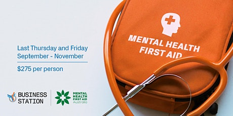 Mental Health First Aid (MHFA) Course tickets