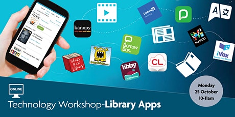 Technology Workshop - Library Apps - Online event via Zoom tickets