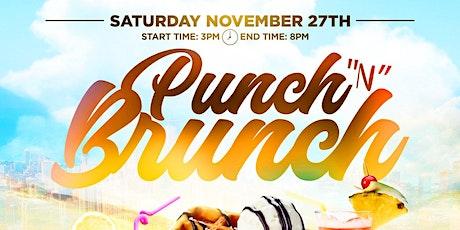 Punch N Brunch tickets