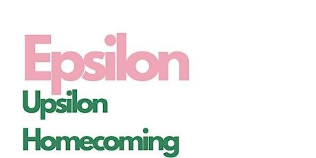 Epsilon Upsilon Homecoming Weekend tickets