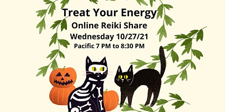 Treat Your Energy Online Reiki Share 100% Calm & Peaceful tickets