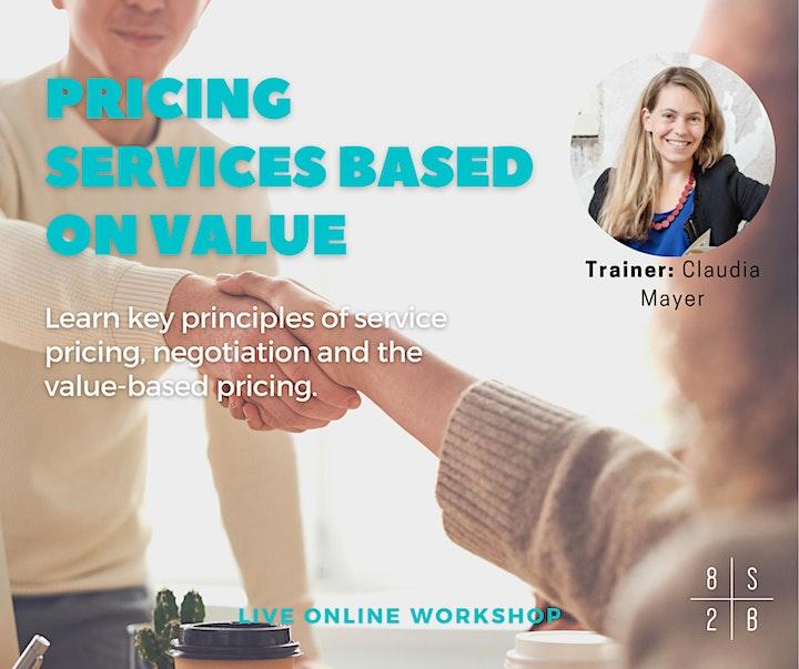 Workshop: Pricing services based on value image