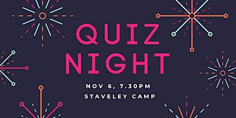 Quiz Night @ Staveley Camp tickets