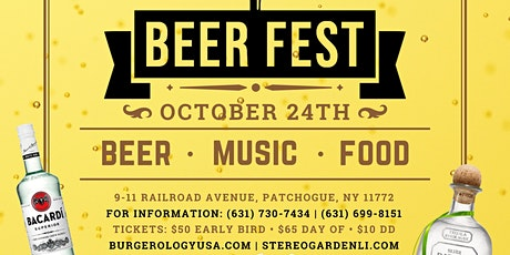 Patchogue Beer Fest tickets