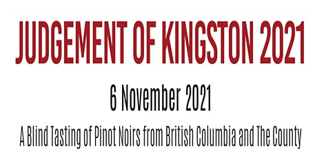 The Judgement of Kingston 2021 tickets