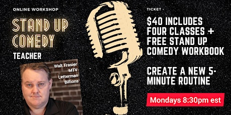 ONLINE Stand-Up Comedy Class AND Free eBook tickets