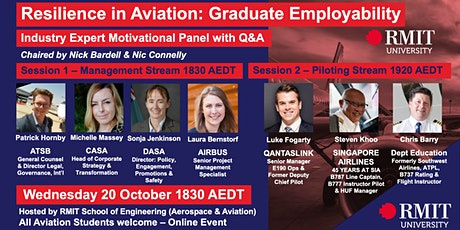 Resilience in Aviation - Graduate Employability Panel tickets