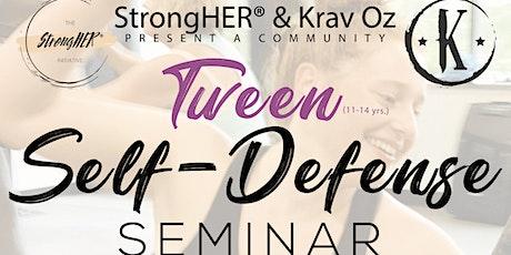 Teen/Tween Girl's Self-defense Seminar (ages 11-14) tickets