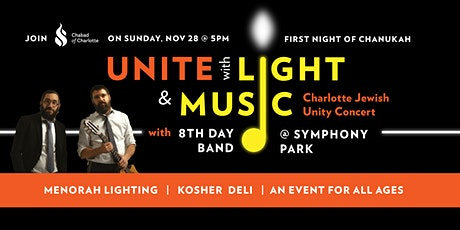 UNITE with LIGHT & MUSIC: Jewish Unity Concert with 8TH DAY tickets