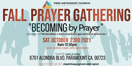 BECOMING by Prayer tickets