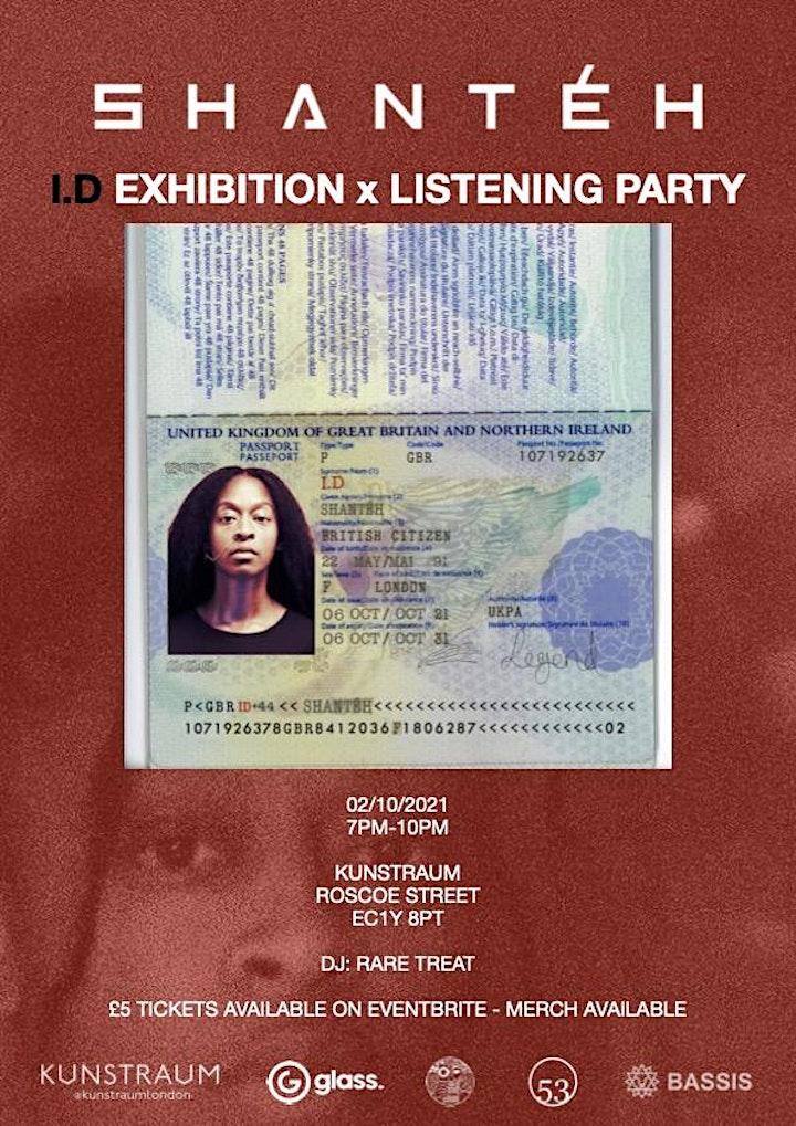 SHANTÉH - I.D Listening Party x Exhibition image