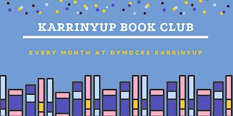 Karrinyup Book Club - OCTOBER tickets