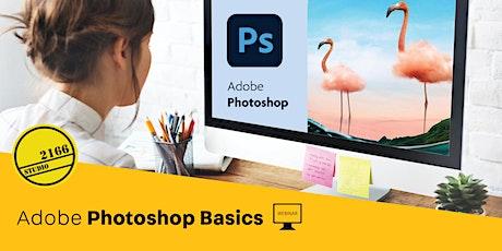 WEBINAR: Adobe Photoshop Basics tickets