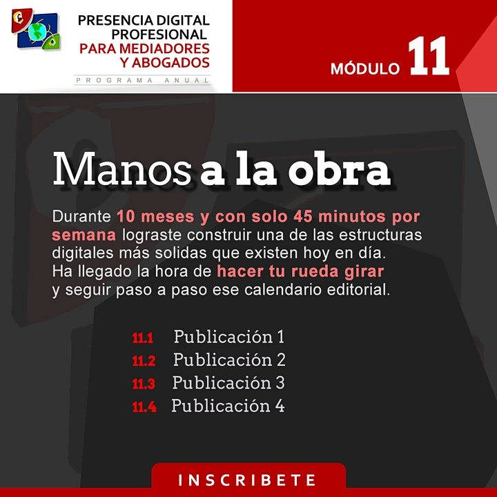 Imagen de Programa  Presencia Digital Profesional para Mediadores, Abo...