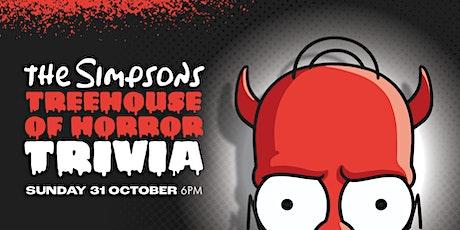 Simpsons Treehouse of Horror Trivia [HERVEY BAY] tickets