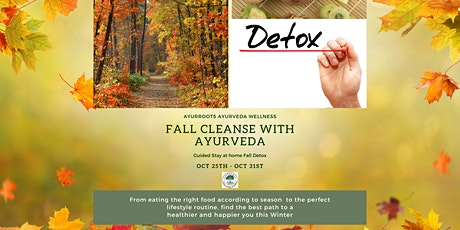 Fall Cleanse with Ayurveda -Ease into Fall with Ayurveda Detox tickets