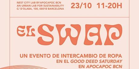 El SWAP: Evento Intercambio de Ropa en Barcelona entradas