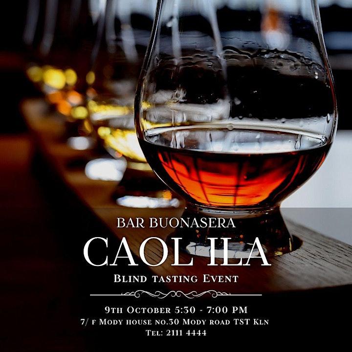 Caol Ila Blind Tasting Event @ Bar Buonasera image