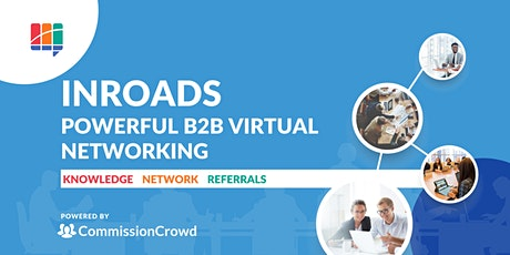 InRoads B2B Virtual Networking tickets
