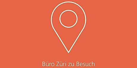 Büro Züri zu Besuch: Coworking Lounge Tessinerplatz Tickets