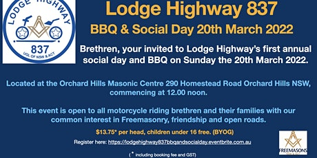 Lodge Highway 837 BBQ & Social Day tickets