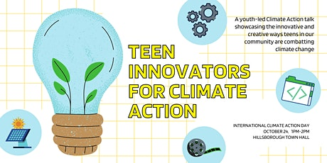 Teen Innovators for Climate Action tickets