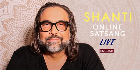Online Live Satsang with Shanti Tickets