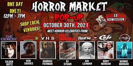 Haunted Halloween Horror Market Pop Up tickets