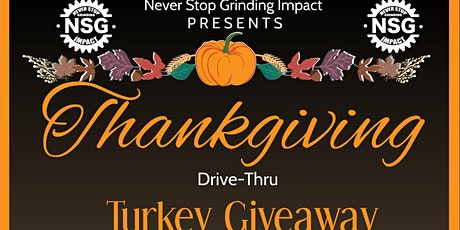 Never Stop Grinding Impact Turkey Giveaway tickets
