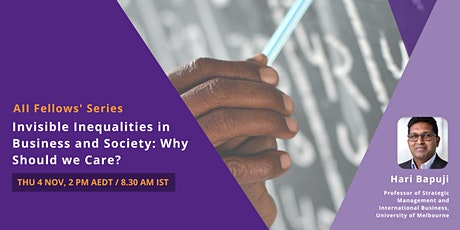Aii Fellows Series: Invisible Inequalities in Business and Society tickets