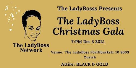 The-LadyBoss Christmas Dinner tickets