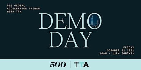 500 Global Accelerator Taiwan with TTA Demo Day tickets