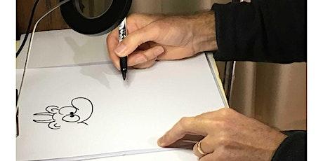 Online workshop: Cartooning for adults tickets