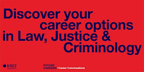 Discover your career options in Law, Justice & Criminology tickets